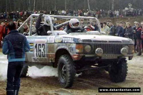 Christophe Neveu Jean Luc Roy Range Rover V8 N 176 163